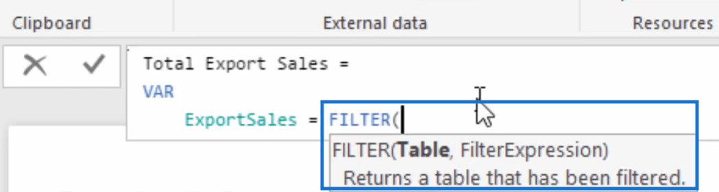 adding variables in power bi