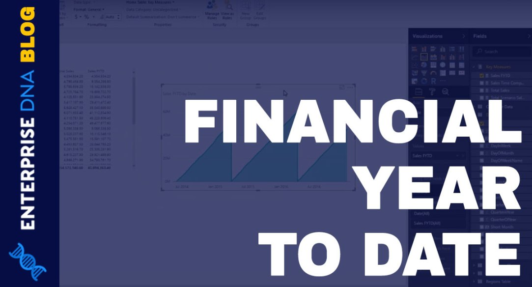 Calculate Financial Year To Date FYTD Sales In Power BI using DAX