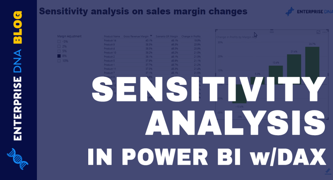 Sensitivity Analysis Logic Using DAX in Power BI