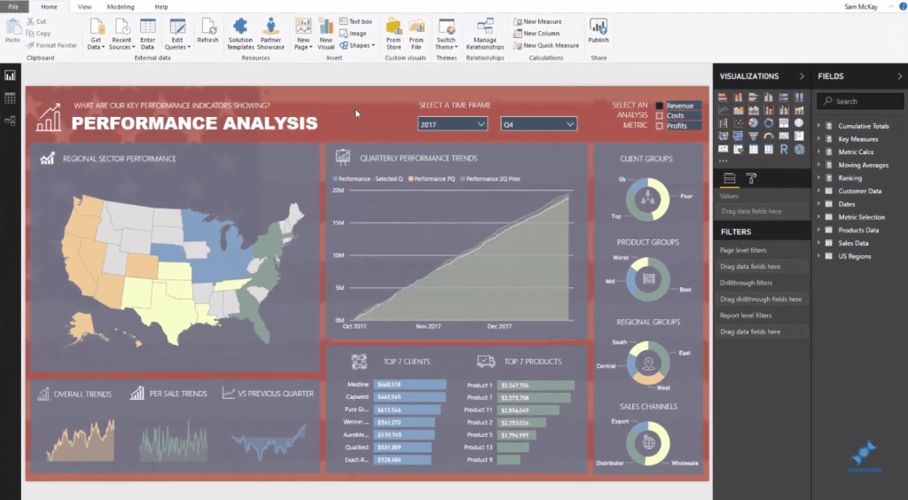 shape map power bi