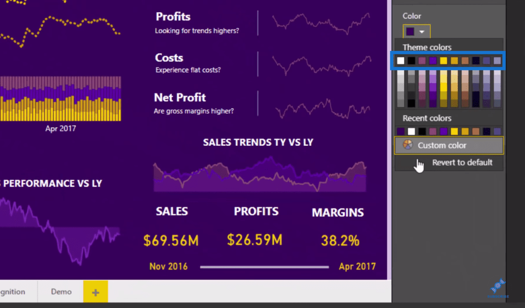 Power BI Report Design