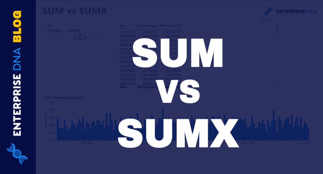 SUM vs SUMX What's The Real Difference Between These DAX Measures