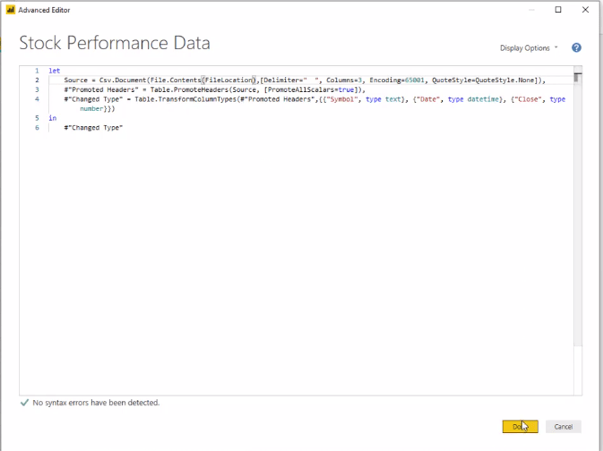 parameter in Power BI