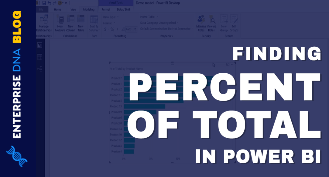 Finding The Percent Of Total In Power BI
