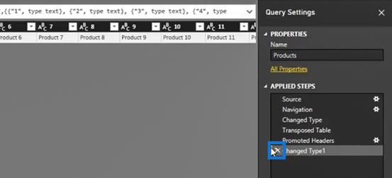 row transformation in Power BI Query Editor