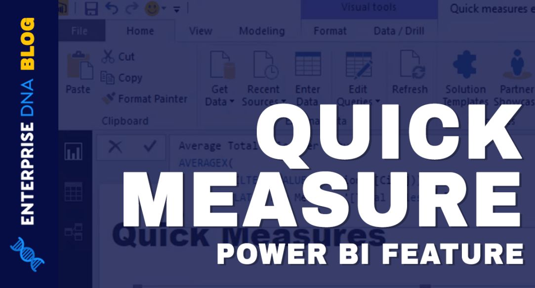 Power BI Quick Measure Feature