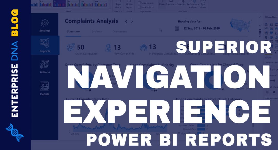 High-Quality-Power-BI-Report-Navigation-Experience