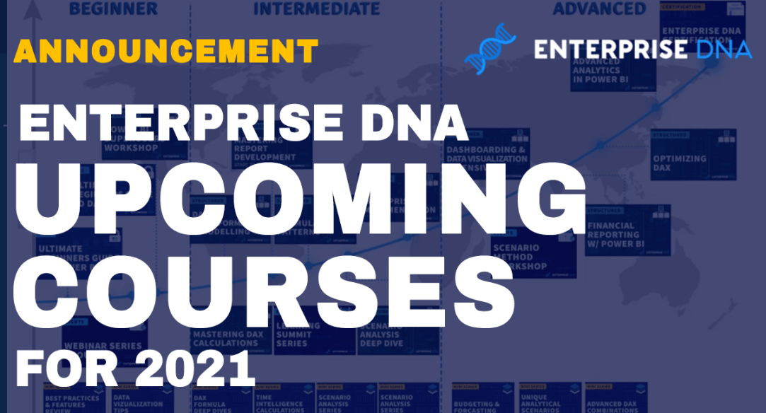 Enterprise DNA Upcoming Courses