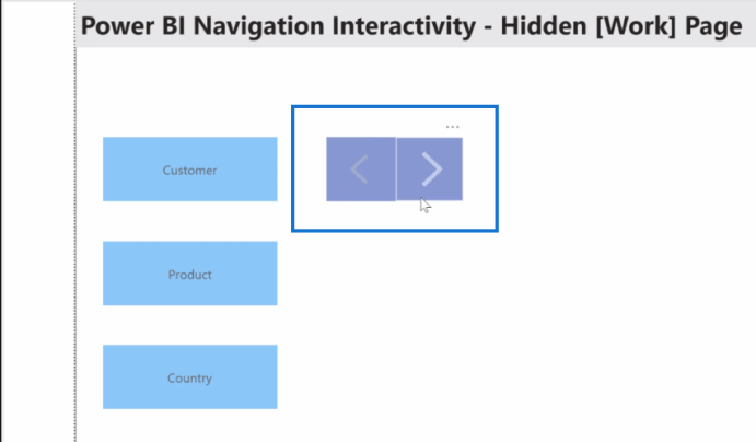 interactive reports in power bi
