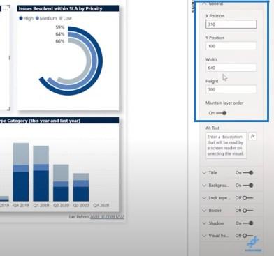 Power BI dashboard examples