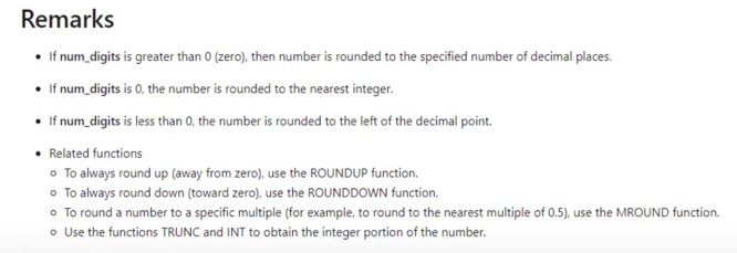 ROUND Function In Power BI