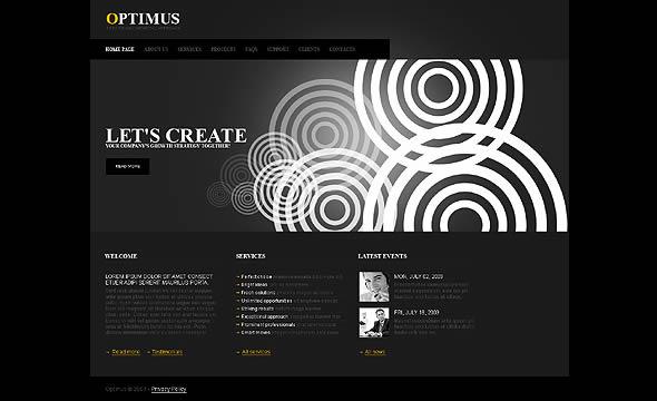 Optimus Business Website