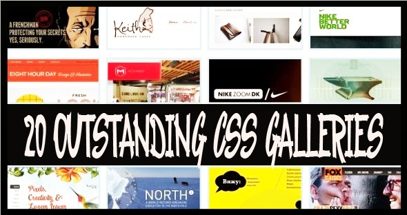 Outstanding CSS Galleries for Web Designer's Inspiration