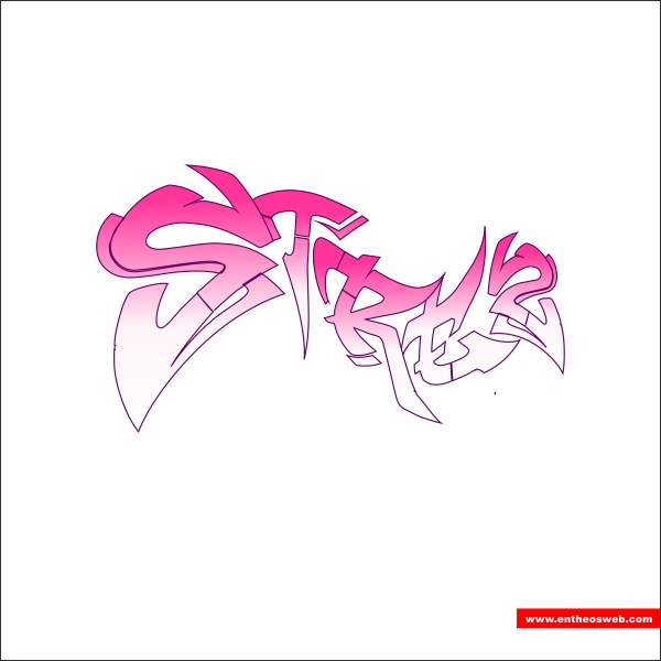 Create Quick Graffiti Text Effects with Coreldraw