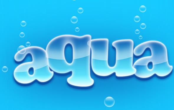 Photoshopping Aqua Wallpaper