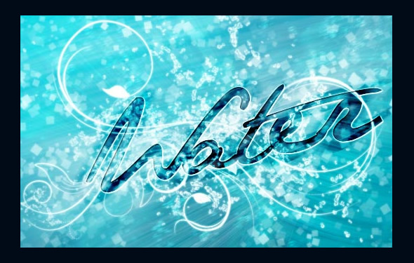 Fantasy Water Wallpaper Photoshop Tutorial