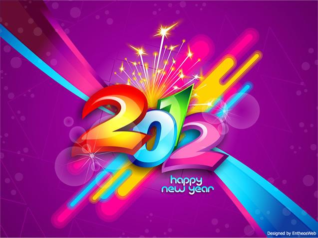 Free New Year 2012 Wallpaper