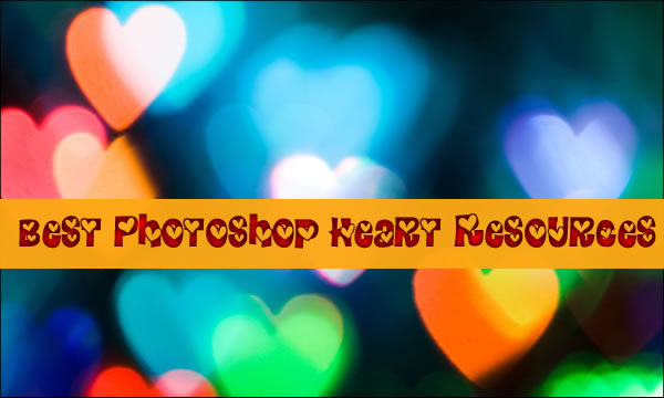 Best Photoshop Heart Resources
