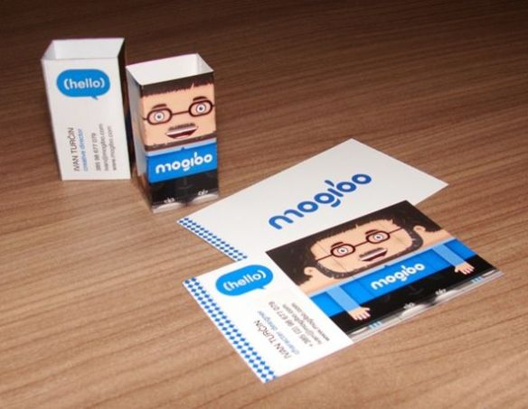 Mogibo business card