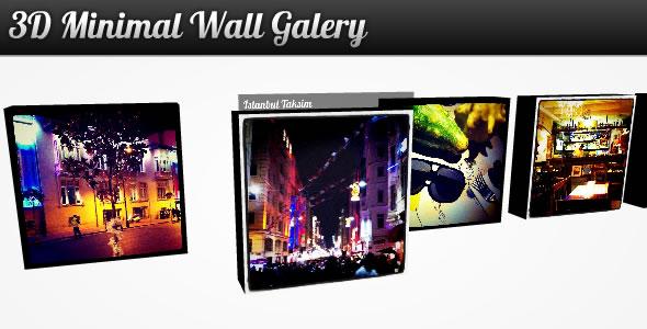 3D Minimal Wall Gallery