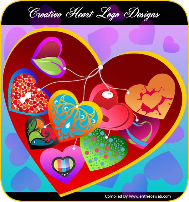 Creative Heart Logo Designs