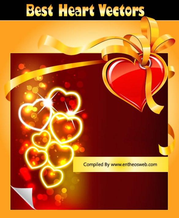 Best Heart Vectors - Creative Valentine's Day Graphics, Backgrounds and Icons