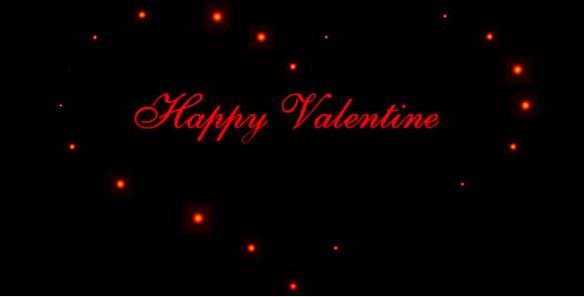 Glowing Valentine Card