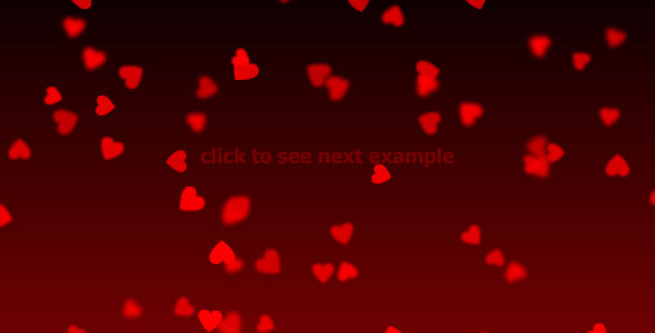 Stylish valentines hearts XML background