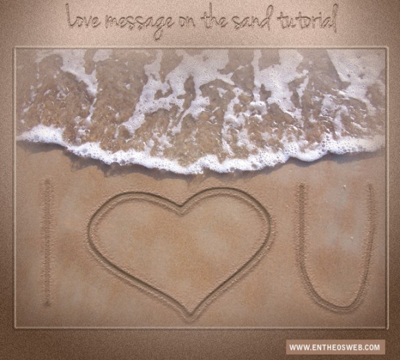 Learn How To Create Sand Text Effect In PhotoShop