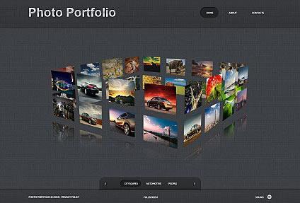 Photo Portfolio Flash Photo Gallery