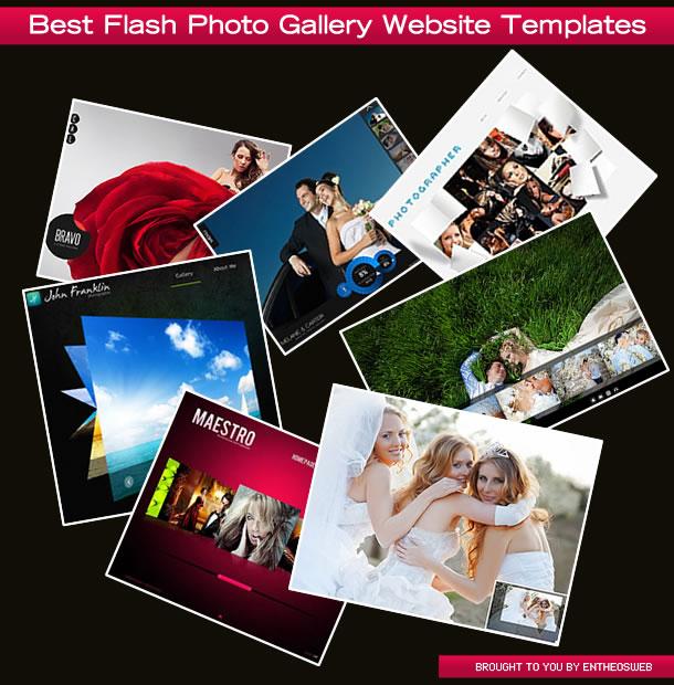 Best Flash Photo Gallery Website Templates
