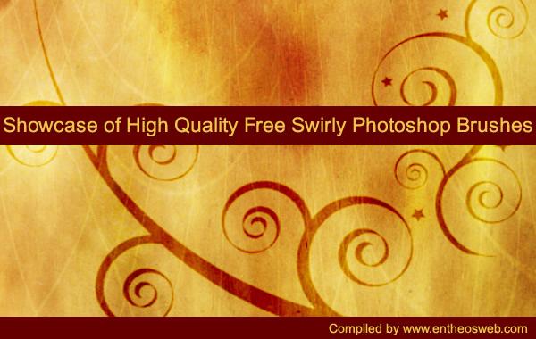 Showcase of High Quality Free Swirly Photoshop Brushes