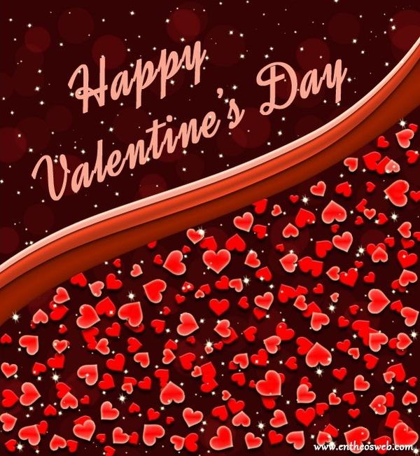 Happy Valentine's Day Card in Photoshop