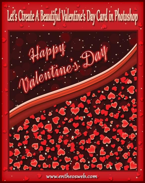 Valentine's Day Card in Photoshop Tutorial