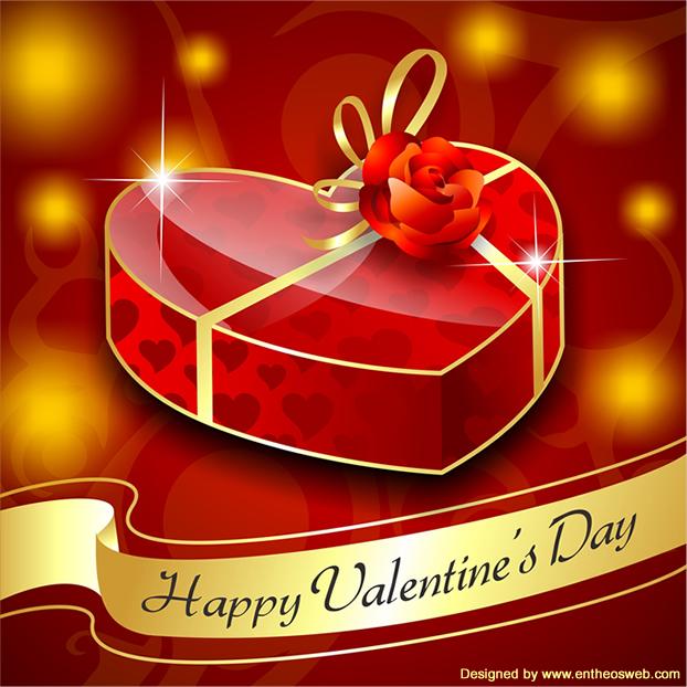 Free Heart Chocolate Box Vector