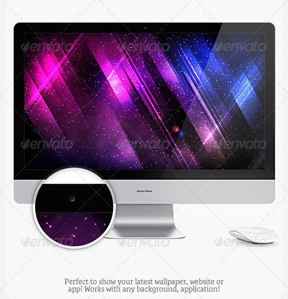 Laptops & Displays Mock-up