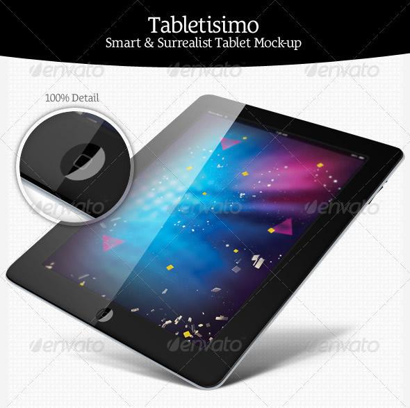 Tablets Mock-up Showcaser