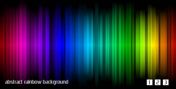 Abstract rainbow background. Multicolor.