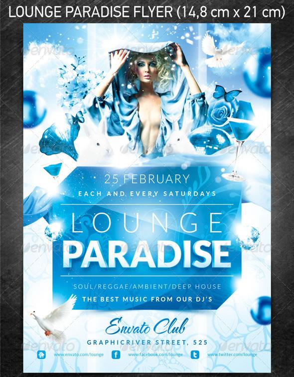 Lounge paradise flyer