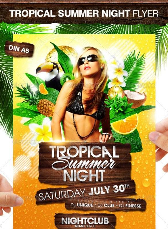 Tropical Summer Night