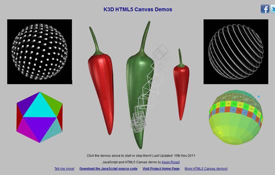 K3D Canvas 3D