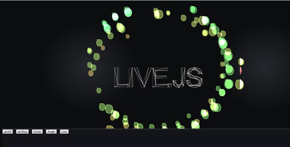 Animation Particles Text