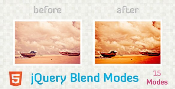 jQuery Blend Modes