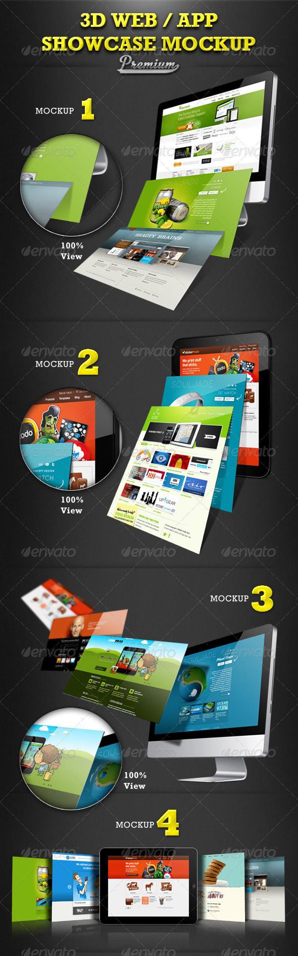 Web / App Showcase Mockup