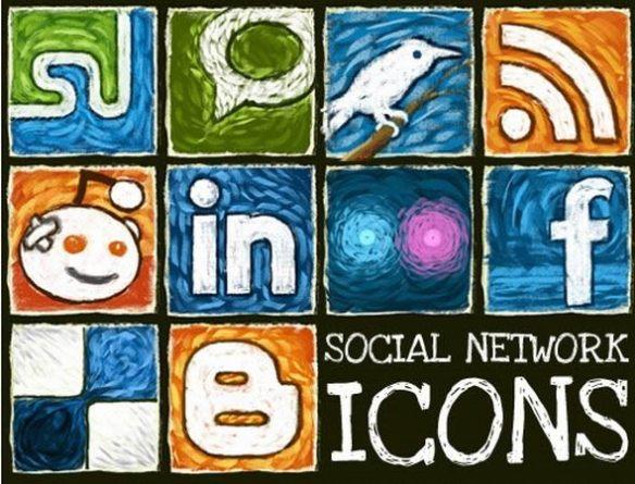 Hongkiat Exclusive: Social Network Icon Set
