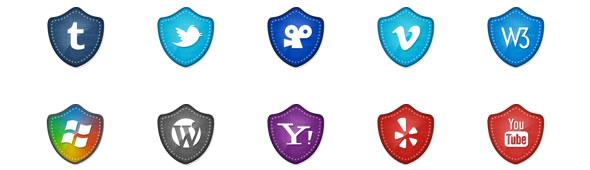 50 Free Vector Social Media Icons