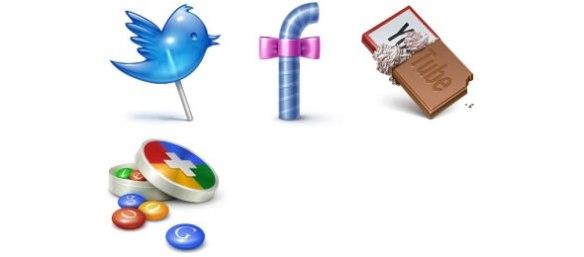 Social Treat Icons