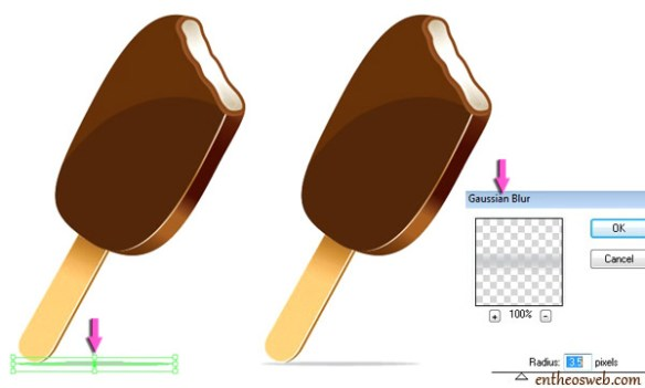 Create Yummy Ice Cream Illustrations