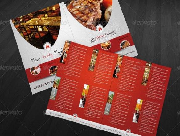 RW Grill Restaurant Premium Brochure