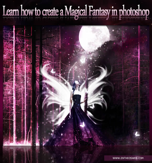 Magical Fantasy Image Effect in Photoshop